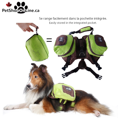 Harness - Dog sport backpack