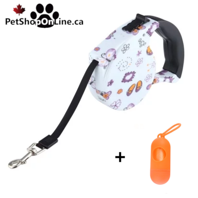 Automatic retractor leash - Butterfly  model