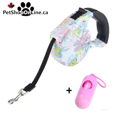 Automatic retractor leash - Flower model