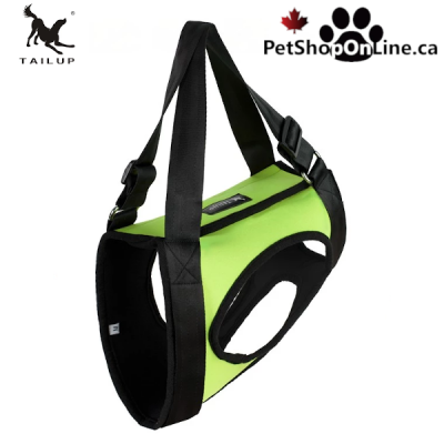 Dog lifting harness - Rear leg grip