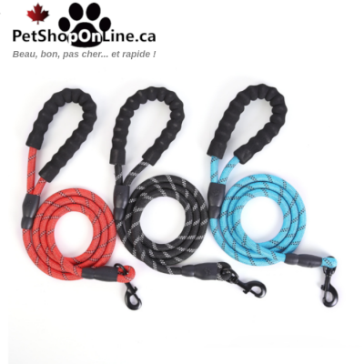 Heavy duty leash, climbing rope, with padded handle.