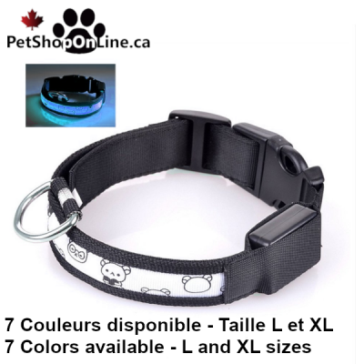 Collier lumineux à LED - Oursons