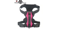 Professional quality harness 4 functions - Pink