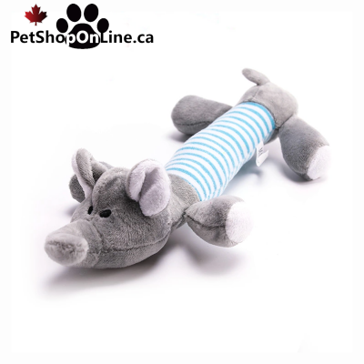 Dog Plush, Resistant - Elephant