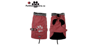 Luxury waterproof coat for winter with reflective logo. For Dog