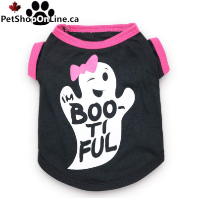 T-shirt fantome Boo-Ti-Ful pour l'Halloween
