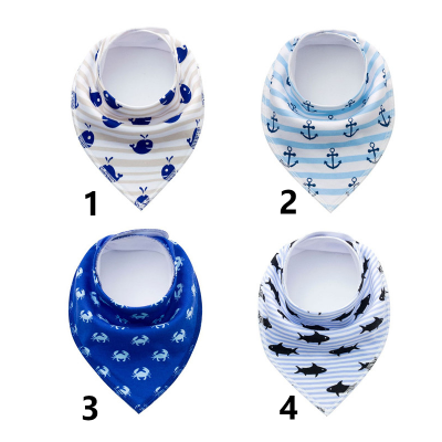 Bandana for dog with snaps - Marine collection