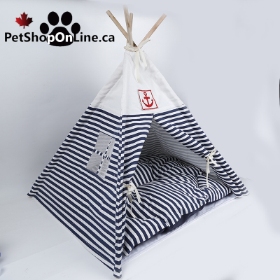 Tipi for dog or cat + cushion