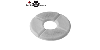 Fountain for dogs or cats with protective mat