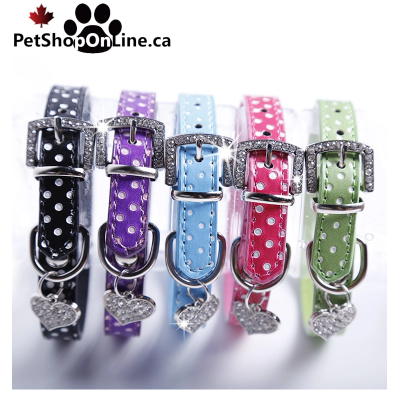 Fashion necklace with jewel for cat and dog