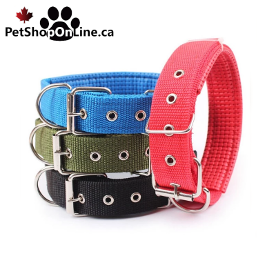 High quality collar, adjustable for dog or cat