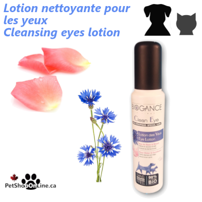 Clean eyes lotion