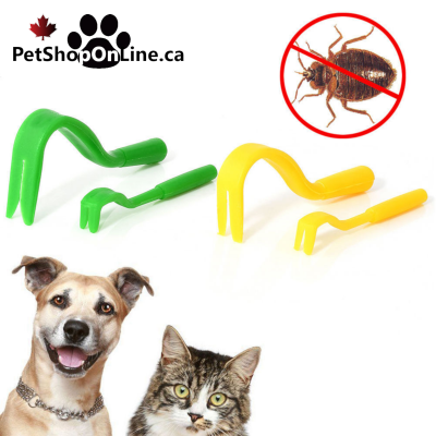 Tick hooks for dog or cat