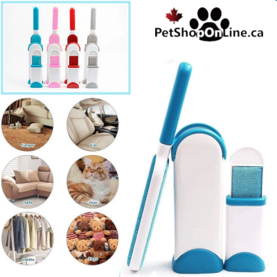 Self-cleaning clothes brush kit