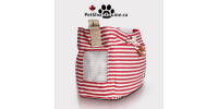 Carry bag with shoulder strap for cat or small dog - Marine-style